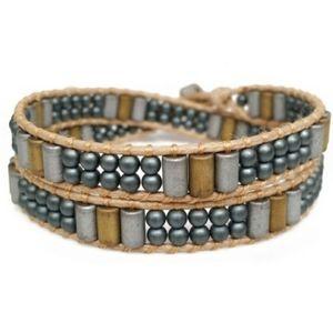 NEW Handmade Katie Soleil 2 Wrap Bracelet Choker